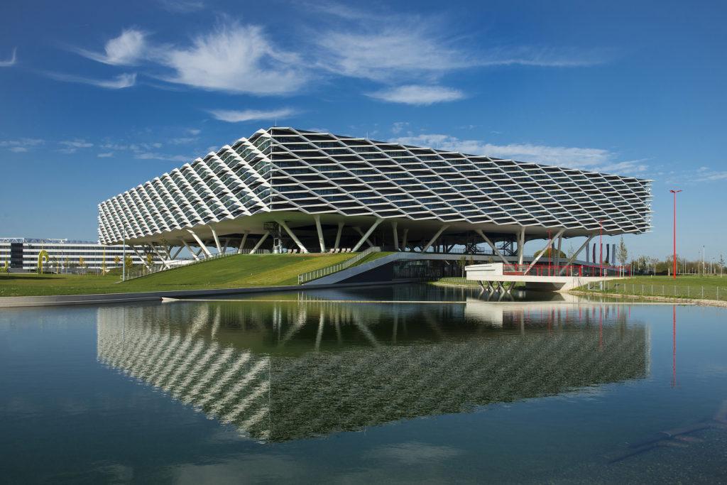 Lake Arena. Beeld Janss Joosten
