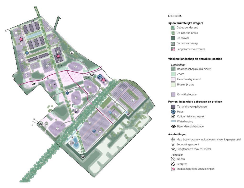 Buurtschap Crailo door SVP architectuur en stedenbouw