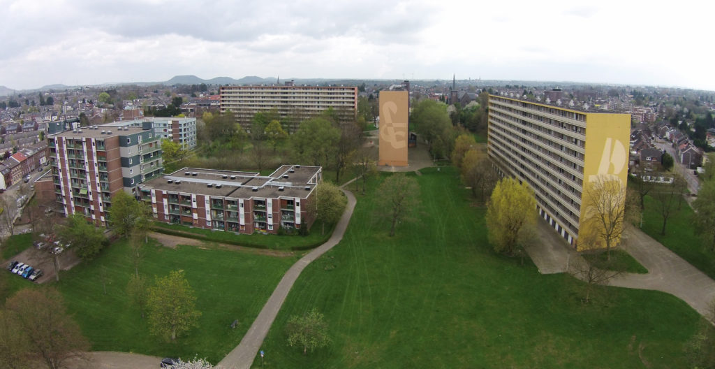 In Bleijerheide te Kerkrade IBA Parkstad - Het Expogebouw in de wijk Bleijerheide te Kerkrade door Maurer United Architects Beeld Kim Zwarts