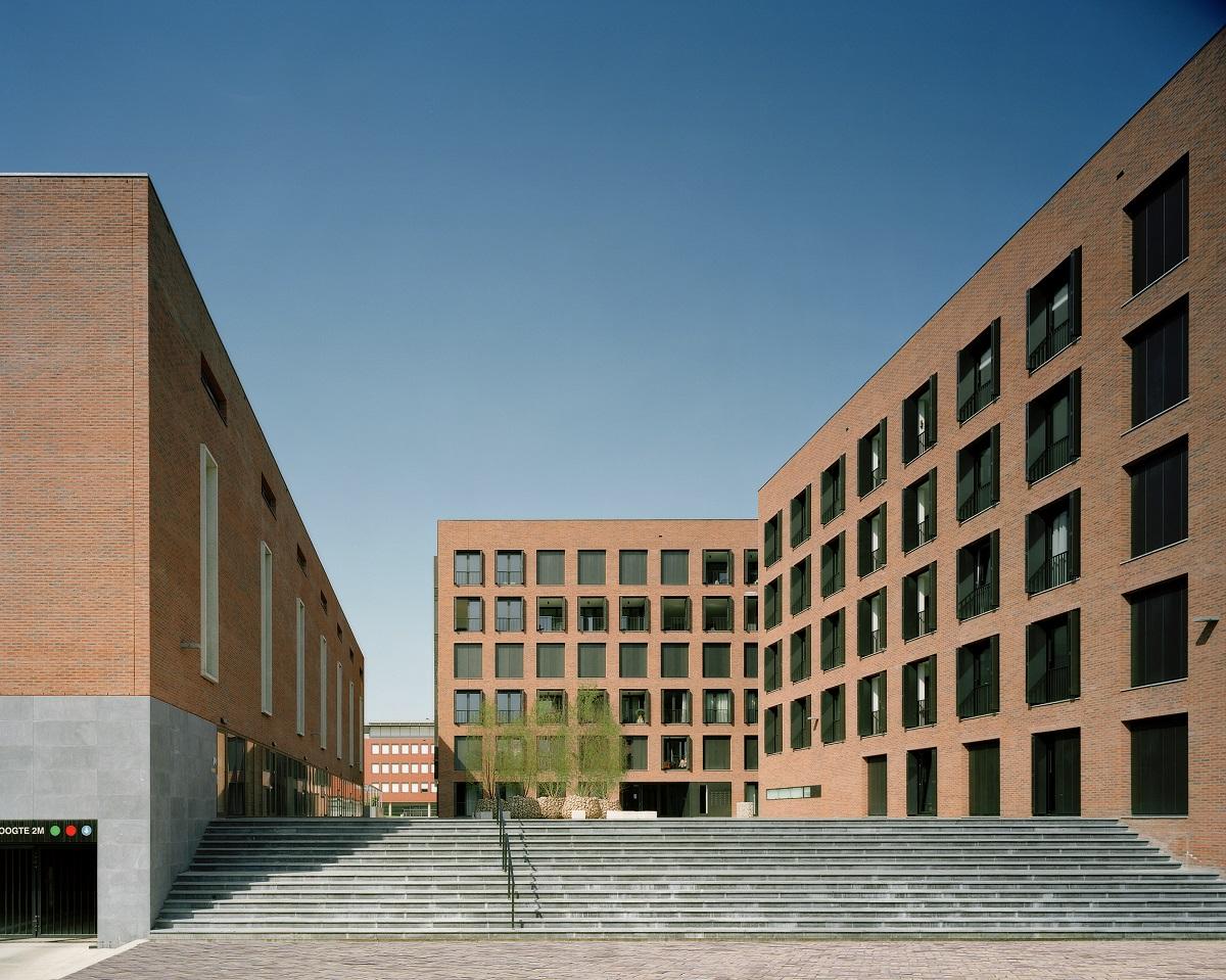 <p>Piazza Céramique, ontwerp Jo Janssen Architecten</p>