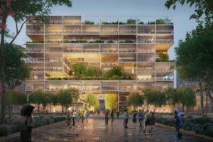 Foster + Partners wint competitie voor nieuw HQ Alibaba in Shanghai