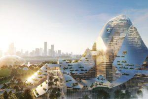 MVRDV onthult ontwerp 'slimme campus' voor Tencent in Shenzhen