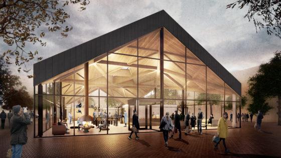 NOAHH maakt ontwerp overdekte markthal in Schalkwijk, Haarlem