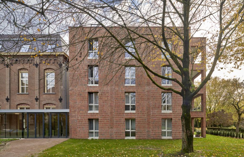 Woongebouw 1 voor Klooster Oude Dijk te Tilburg door Shift. Beeld René de Wit