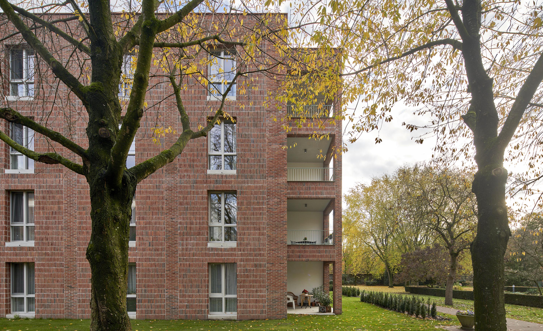 <p>Woongebouw 1 voor Klooster Oude Dijk te Tilburg door Shift. Beeld René de Wit</p>