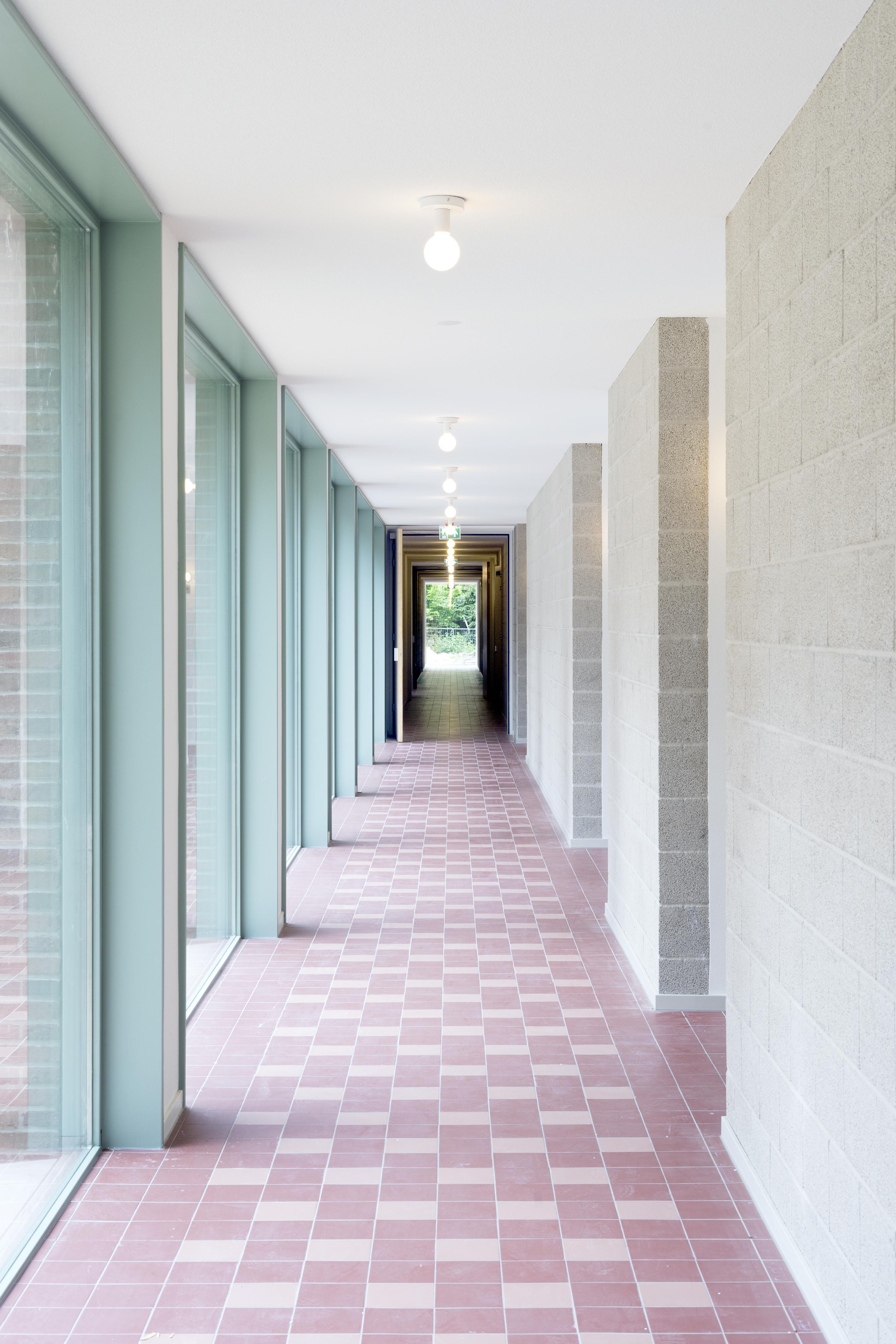 <p>Woongebouw 1 voor Klooster Oude Dijk te Tilburg door Shift. Beeld Riccardo De Vecchi</p>