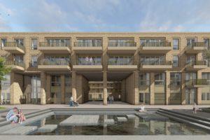 Start bouw De Eenhoorn Amsterdam van Heren 5 Architecten