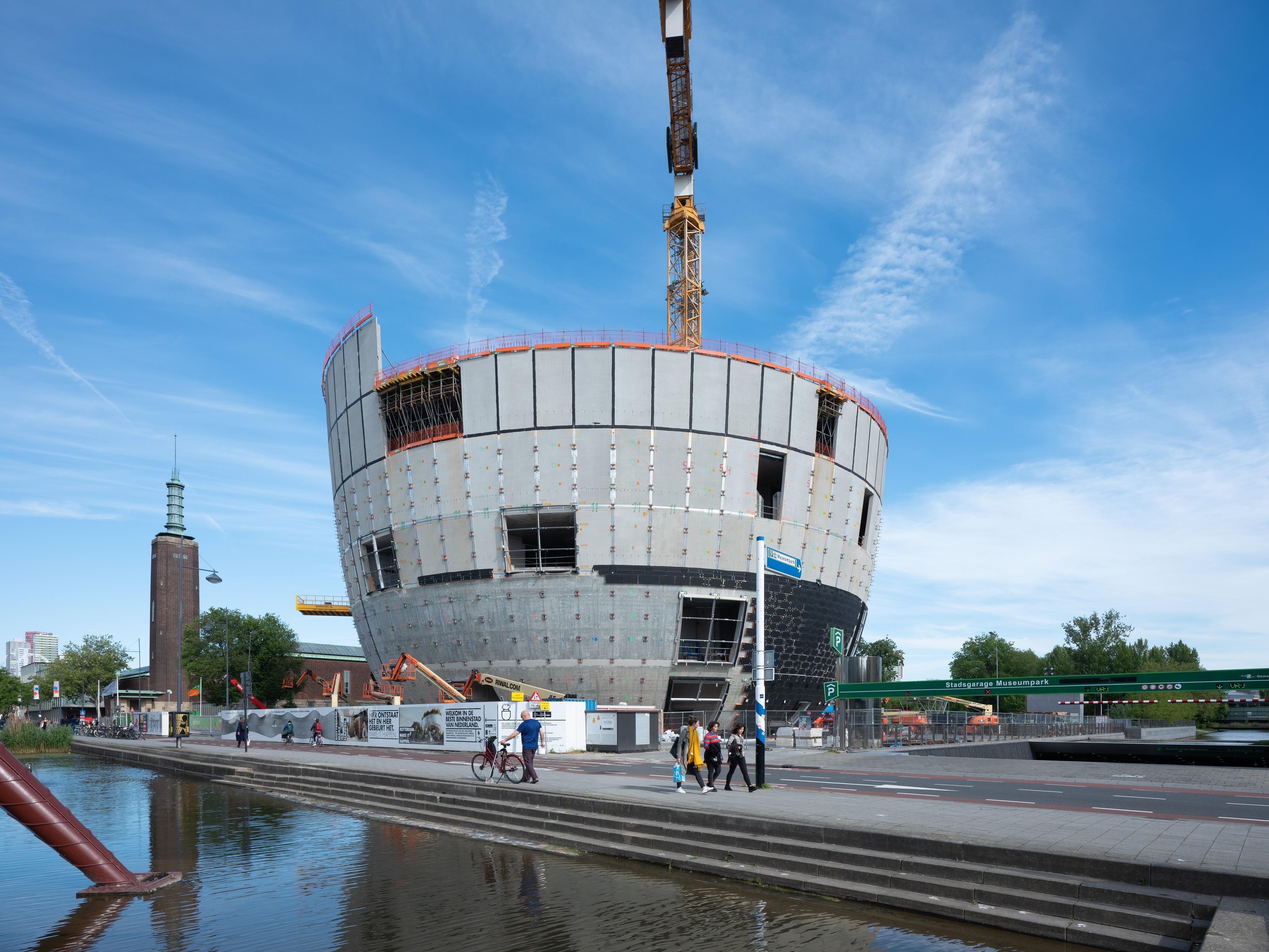 <p>Depot Boijmans Van Beuningen in Rotterdam door MVRDV. Beeld: Ossip van Duivenbode</p>